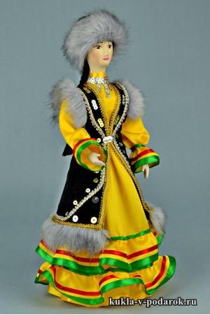 Башкирская кукла авторская работа