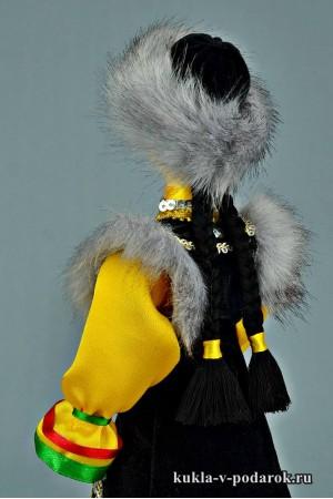 Башкирская кукла с косами