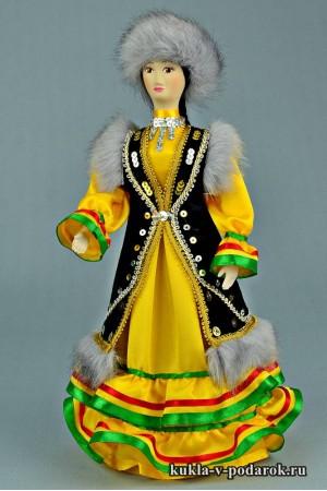 Башкирская кукла сувенир из Уфы