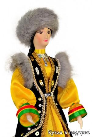 Кукла в башкирском народном костюме