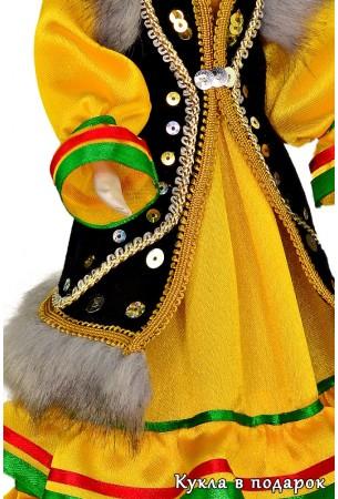 Башкирская кукла детали одежды