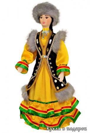 Костюм башкирки Кукла авторская работа