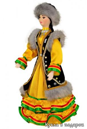 Праздничная одежда башкирской женщины