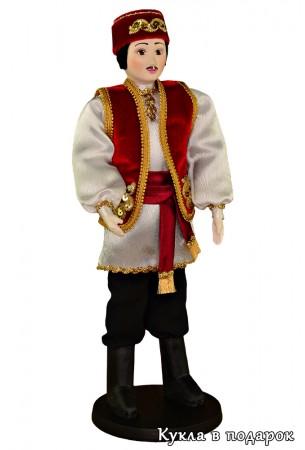 Кукла в подарок татарин в национальном костюме
