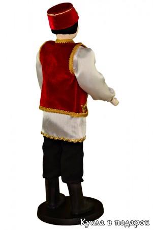 Татарин в национальной праздничной одежде
