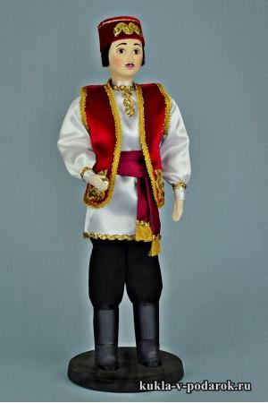 Татарин в национальном костюме кукла в подарок