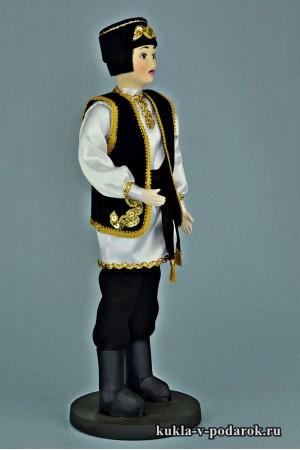 Татарин в национальном костюме кукла от автора