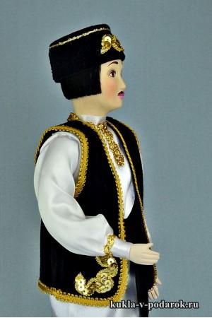 Татарин в национальном костюме и народной одежде