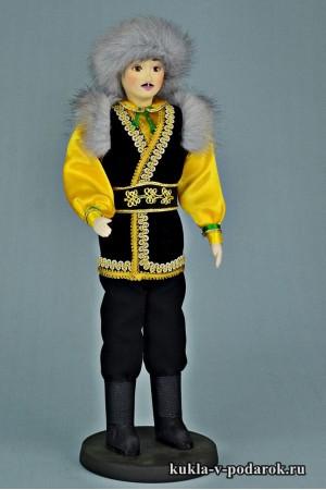 Башкир в национальном костюме кукла в подарок