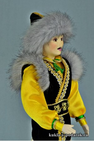 Башкир в национальном костюме сделано в России Москва