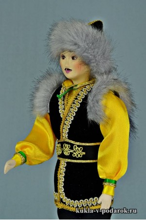 Башкир в национальном праздничном костюме