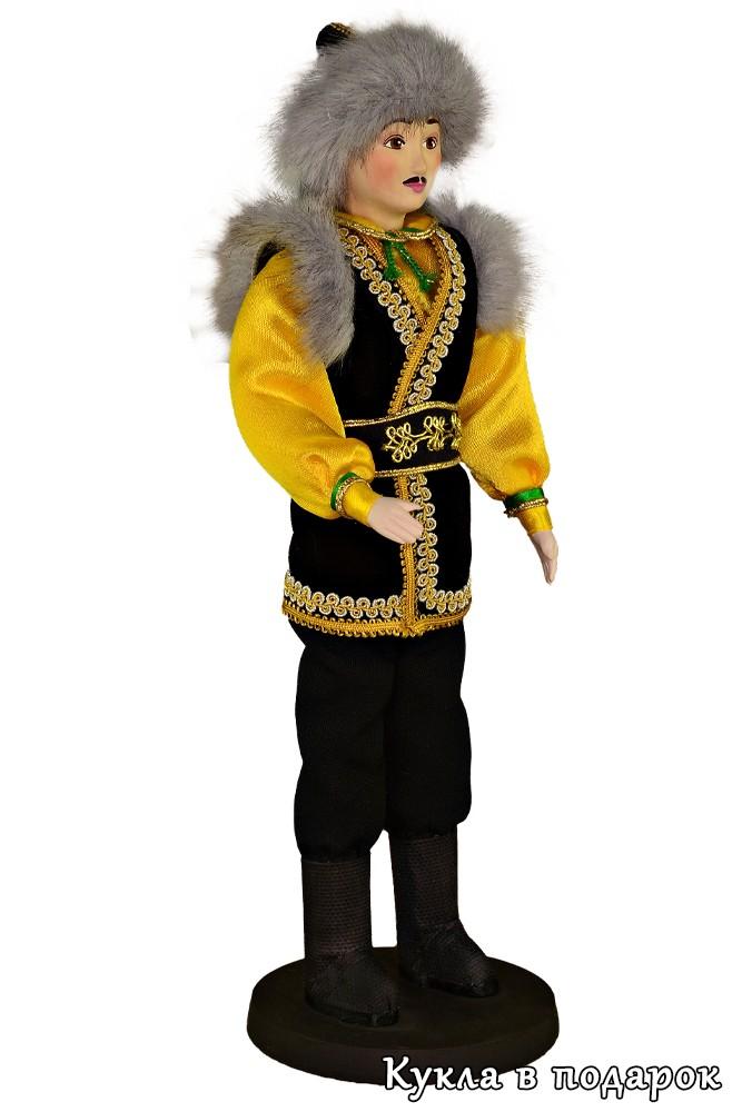 Башкир кукла в национальном костюме купить в Москве