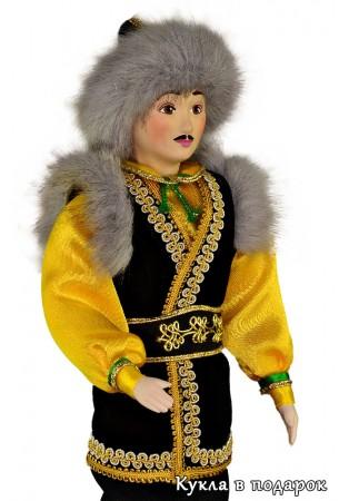 Башкирский мужчина в национальном костюме