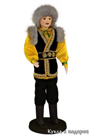 Кукла башкир в национальном костюме