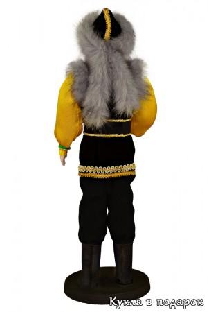 Башкирский сувенир кукла в национальной одежде