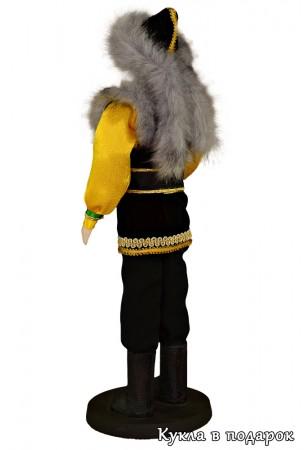 Авторская кукла башкир в традиционном костюме