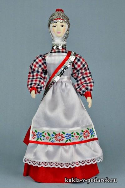 Кукла в чувашском костюме