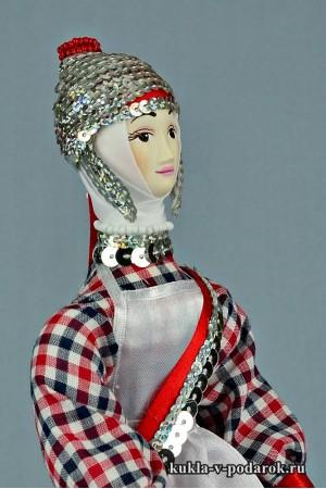 кукла в чувашском костюме уникальный подарок