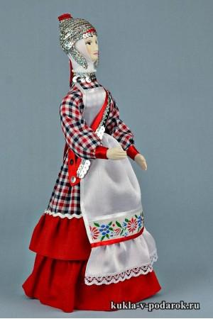 кукла в чувашском костюме сделано в России