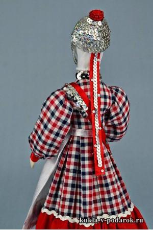 кукла в чувашском костюме рукодельный сувенир