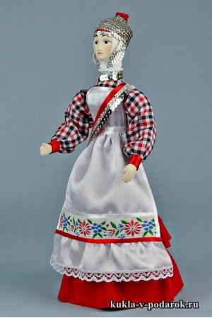 кукла в чувашском костюме красивый подарок