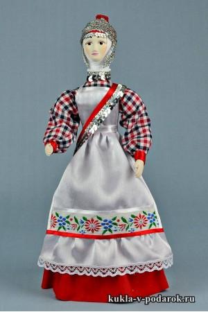 кукла в чувашском костюме в коллекцию