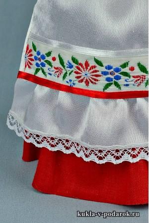 кукла в чувашском костюме детали одежды