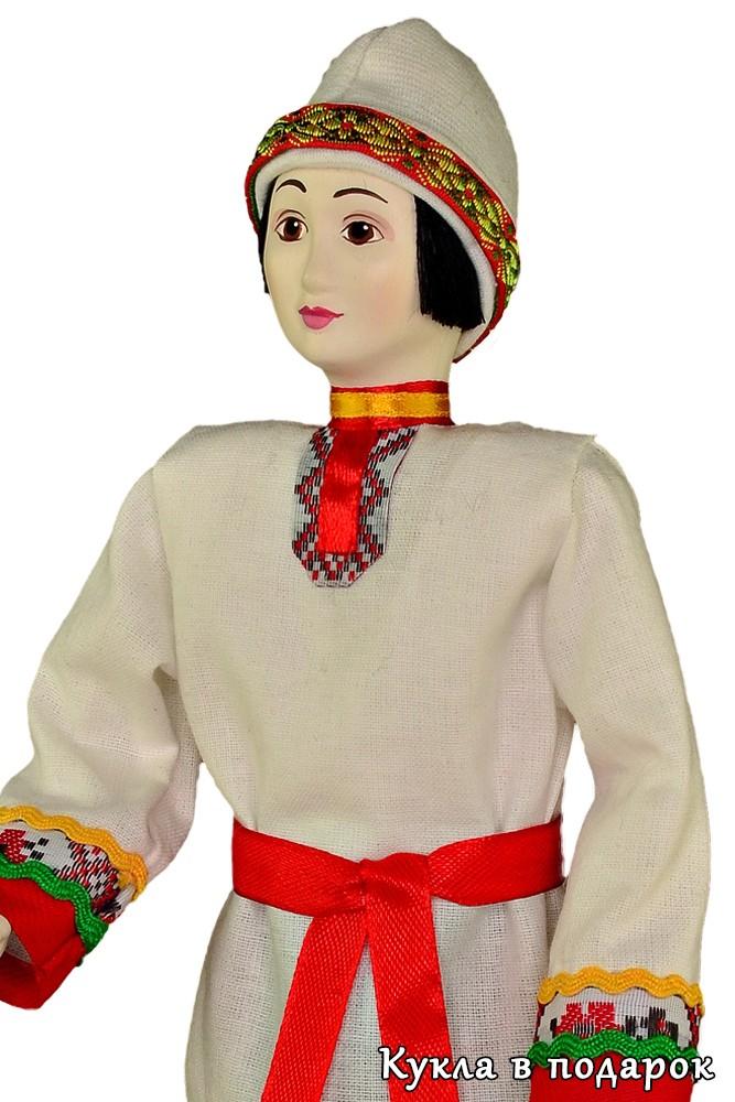 Чуваш кукла в национальном костюме купить в Москве недорого