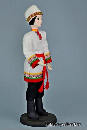 Чуваш в национальном костюме кукла ручной работы