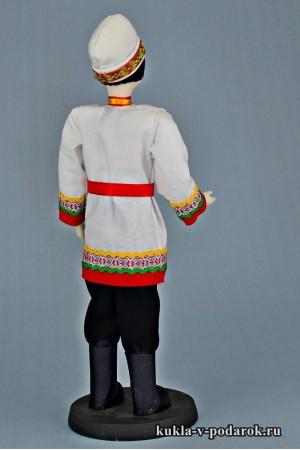 Чуваш в национальном костюме сделано в России Москва