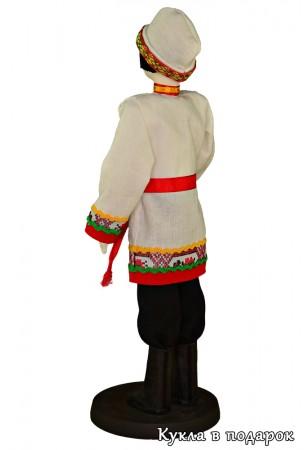 Авторская кукла чуваш в национальном костюме
