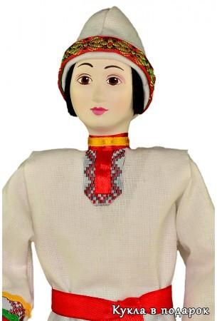 Часть чувашской культуры кукла в национальном наряде