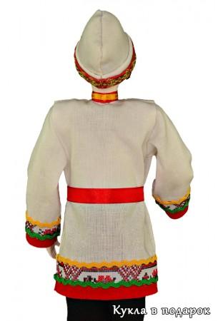 Сувенир Чувашии кукла в национальной одежде