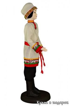 Традиционный костюм мужчины чуваша