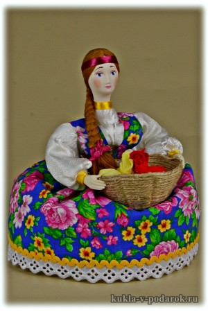 Ароматная кукла ручной работы