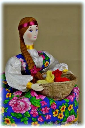 Ароматная кукла авторская работа