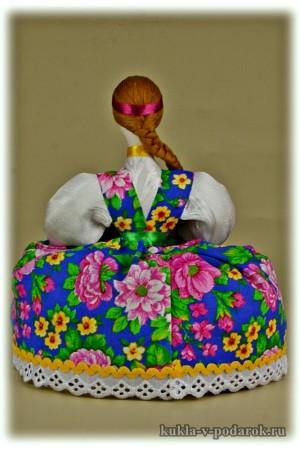Ароматная кукла сувенир Москва