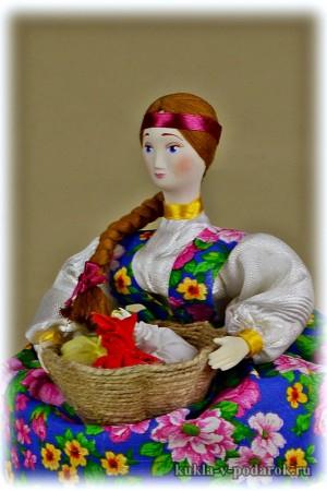 Ароматная кукла в подарок на здоровье