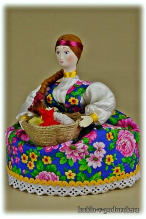 Ароматная кукла для сушеных трав
