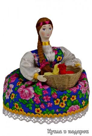 Кукла мешочек для хранения ароматных растений