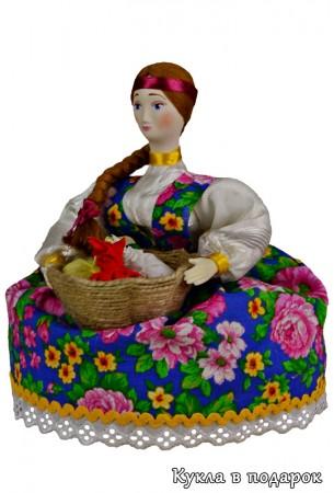 Кубышка травница кукла для хранения ароматных трав