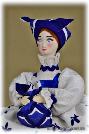 Лечебная кукла для сушеных трав сбор