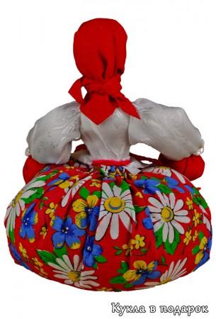 Целебные травы в кукле дают эффект ароматерапии