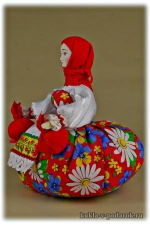 Целебная кукла для сушеных трав