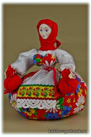 Целебная кукла в подарок на здоровье