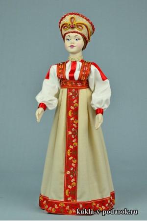 фото московская кукла подарок России
