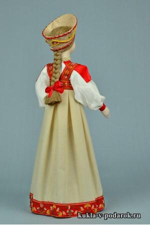 фото московская кукла из фарфора