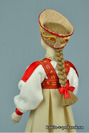 фото московская кукла в женском костюме