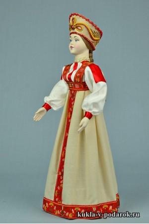 фото московская кукла рукодельное изделие