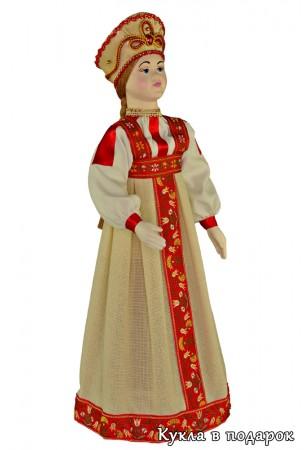 Куклы России - московская кукла